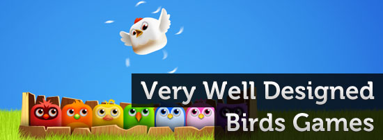List of Very Well Designed Birds Games