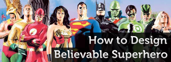 How To Design Believeable Superhero Character