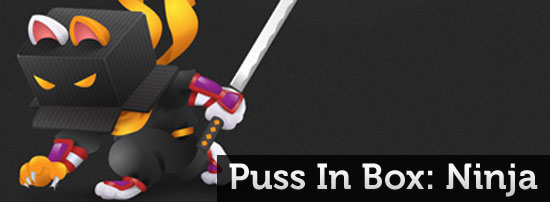 Puss In Box Ninja blog header