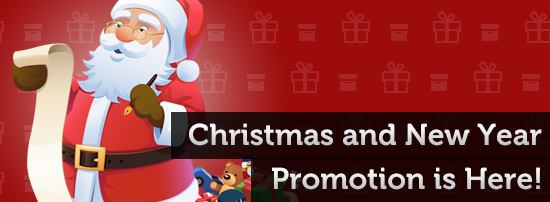 christmas and new year promotion is here