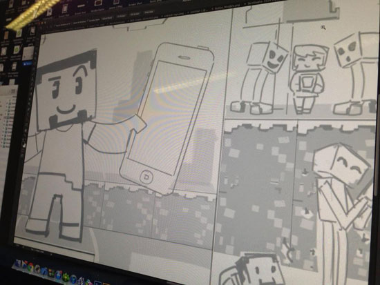 57digital Minecon Sketch