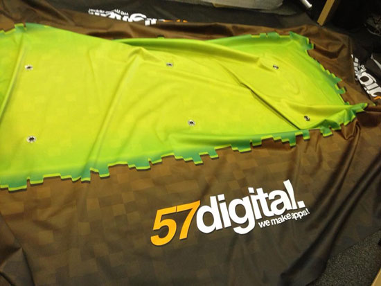 57digital Minecon Tablecloth