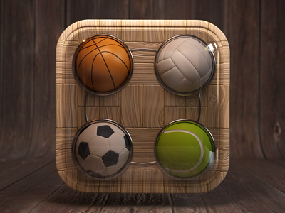 4 balls by Webshocker weekly inspiration icon design blog by petshopbox studio