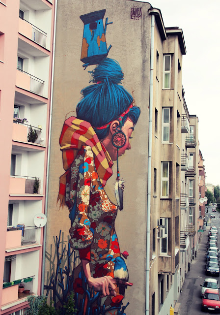 Primavera by Przemek Blejzyk weekly inspiration street art blog by petshopbox studio