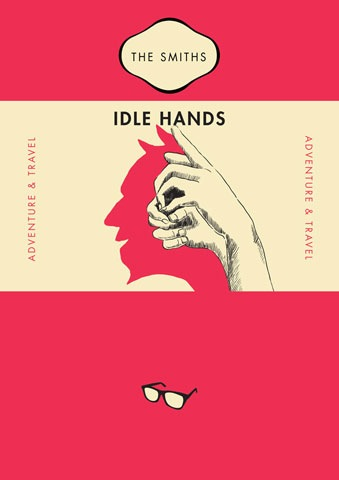 The Smiths - Idle Hands by Raid71 weekly inspiration graphic design blog by petshopbox studio