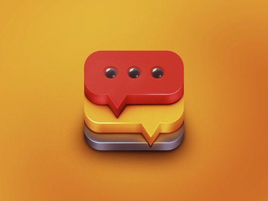3D App Icon Design by CreativeDash