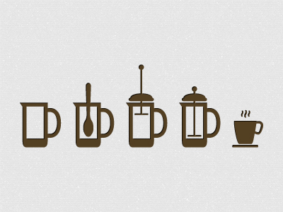 Coffee Icon System by Matthias J.G