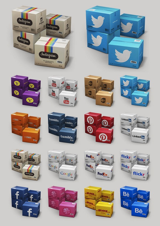 Container Icon Set V4 by Mehmet Gozetlik