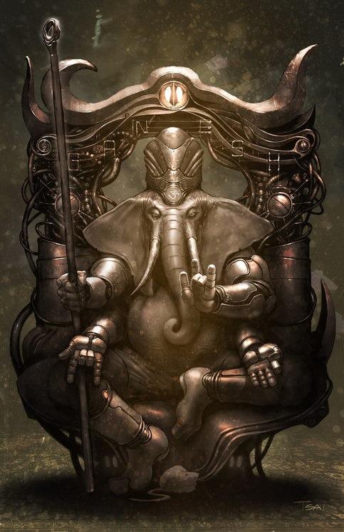Ganesh by Francis Tsai