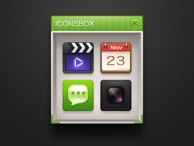 Iconsbox by J.max