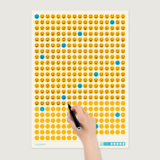 Life Calendar- How was your day? by Brigada Creativa