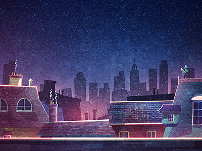 Rooftops by Glenn Thomas