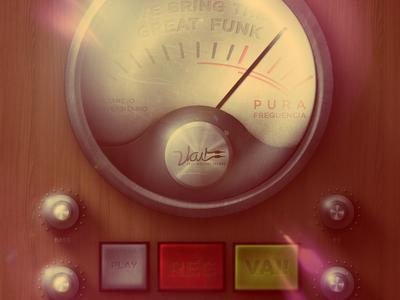 @2X Pura Frequencia - Invite by P. Von Haggen