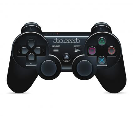 Create A Playstation Controller In Illustration by Marcos Torres